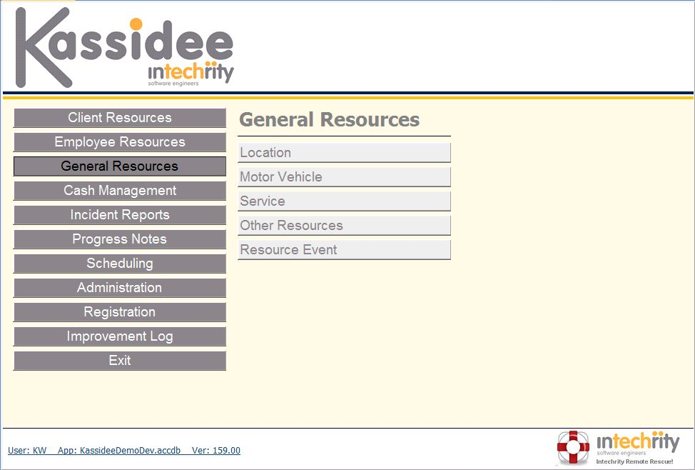 Kassidee Client Management System